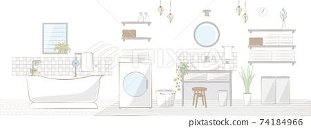室內03_bath_washroom_stay home 74184966