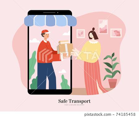 Shipment for online business 74185458