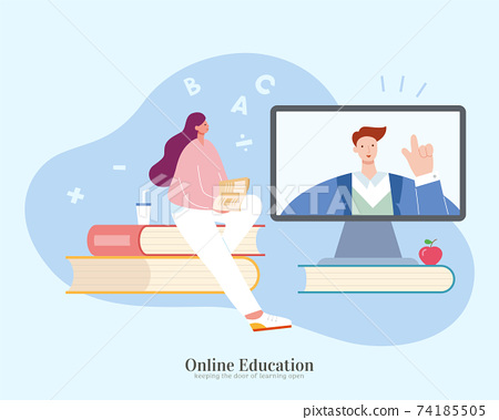 Learning with online tutorial 74185505