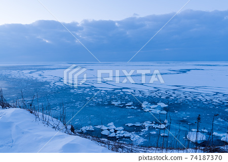 能取岬에서 유빙 74187370