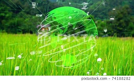 Future environmental conservation and sustainable ESG modernizat 74188282