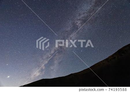 후지산 · 호우 분화구에서 볼 은하수 74193588