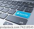 安全和鍵盤按鈕 74219545