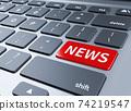 新聞和鍵盤按鈕 74219547