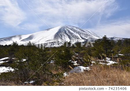 初冬的淺間山 74235406