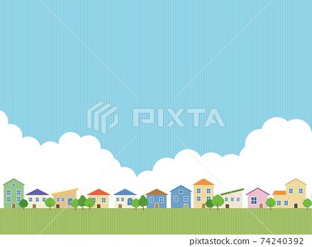 주택 단지 74240392