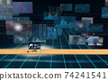 Investment / transaction image Flowing screen 74241541
