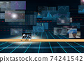 Investment / transaction image Flowing screen 74241542