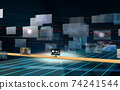 Investment / transaction image Flowing screen 74241544