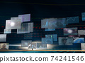 Investment / transaction image Flowing screen 74241546