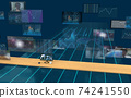 Investment / transaction image Flowing screen 74241550