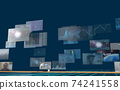 Investment / transaction image Flowing screen 74241558