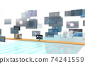 Investment / transaction image Flowing screen 74241559