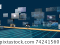 Investment / transaction image Flowing screen 74241560