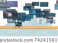 Investment / transaction image Flowing screen 74241561