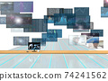 Investment / transaction image Flowing screen 74241562