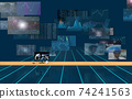 Investment / transaction image Flowing screen 74241563