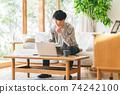 Male remote work 74242100
