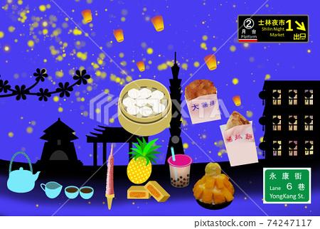 대만 관광 이미지 74247117