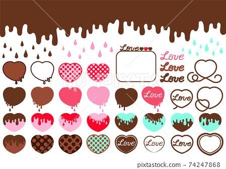 巧克力插圖素材集 74247868