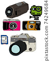 Various cameras 74249684
