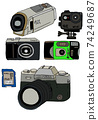 Video camera or digital camera 74249687