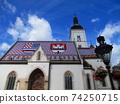 克羅地亞薩格勒布聖馬克教堂西洋鏡風格 74250715