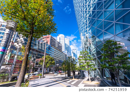 《Aichi Prefecture》 Nagoya station square, business district 74251959