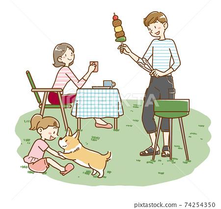 家庭燒烤 74254350