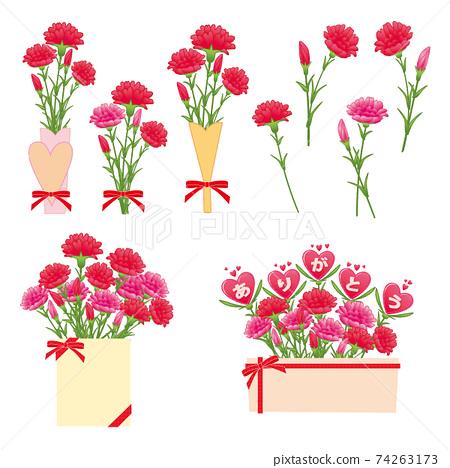 康乃馨花束套裝 74263173