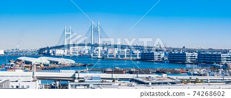 橫濱灣大橋寬 74268602
