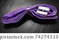 purple woven sling rope 74274310