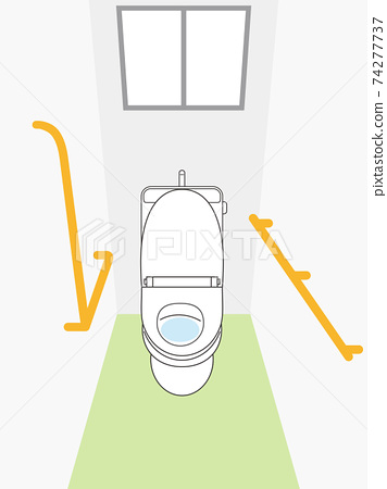廁所廁所扶手 74277737