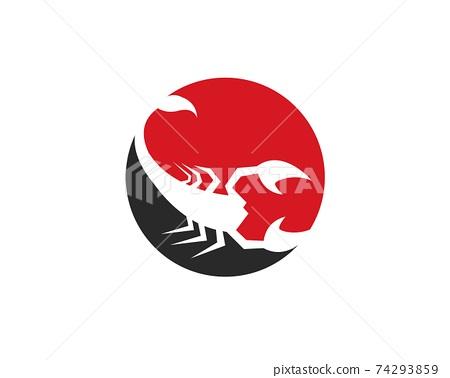 Scorpion Logo Template 74293859