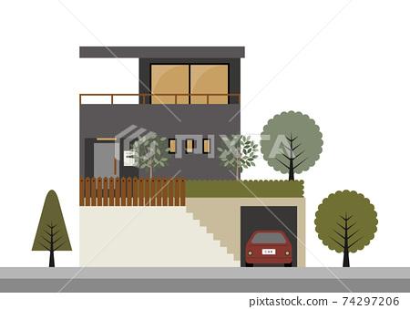 大陽台的房子圖 74297206