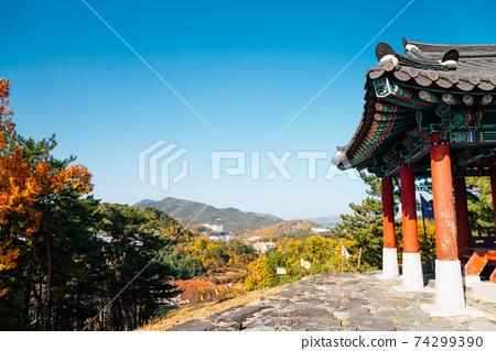 Miryang Eupseong Fortress at autumn in Miryang, Korea 74299390