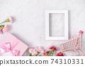 康乃馨 花束 母親節 購物車 carnation Mother's Day 母の日 カーネーション 74310331