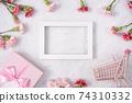 康乃馨 花束 母親節 購物車 carnation Mother's Day 母の日 カーネーション 74310332