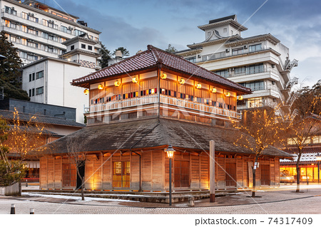 Kaga Onsen, Japan at the Yamashiro Onsen 74317409