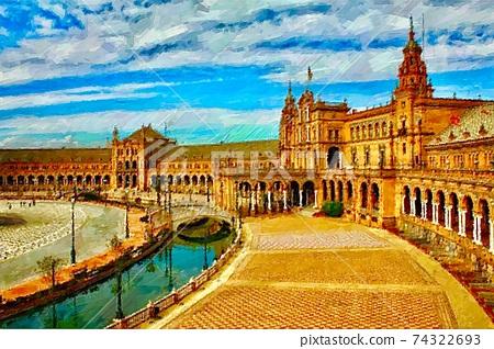 西班牙的風景 74322693