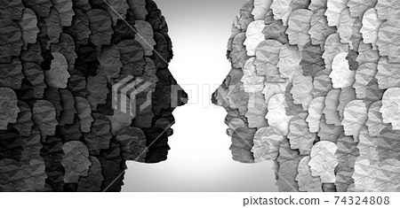 Divided Social Groups 74324808