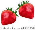 草莓草莓草莓水果圖 74336158