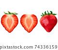 草莓草莓草莓水果圖 74336159