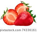 草莓草莓草莓水果圖 74336161