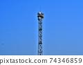 요도가와 봄 통신 철탑 74346859