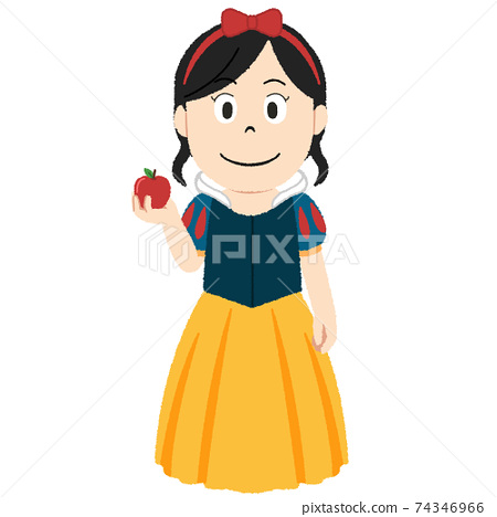 Snow White Illustration 74346966