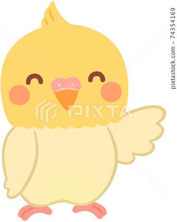 Cockatiel character 74354169