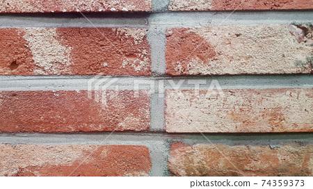 빨간색 빈티지 백그라운드 벽 74359373