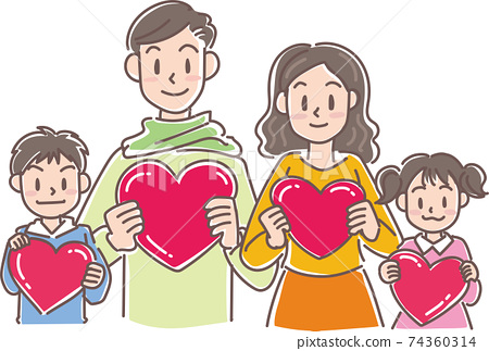 4 hearts in the family 74360314