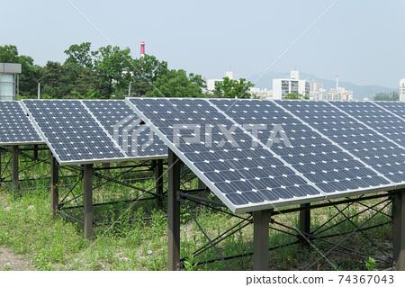 태양광발전(태양열발전) 74367043